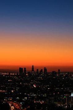 City of Angels at Dawn