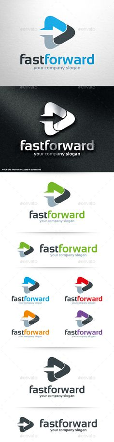 Fast Forward Logo Template