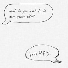 So, so very simple, but this brought tears to my eyes. How many suffering with the pain of mental illness would give this same answer? How many abuse survivors haunted everyday of their lives by the pain they endured, would give this answer? Too many.