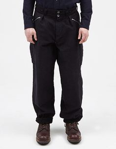 MOUNTAIN DIV PANT BLACK NAVY