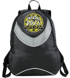 399b0d81 Pickleball Rocks Backpack. How else are you going to carry your paddles to  the court