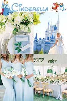 You'll feel like a Disney princess with these Cinderella inspired wedding ideas! wedding inspiration 7 Non-Cheesy Ways To Basically Be A Disney Princess At Your Wedding Wedding Dress Cinderella, Princess Wedding, Wedding Disney, Disney Weddings, Tangled Wedding, Fairytale Weddings, Intimate Weddings, Princess Party, Unique Weddings