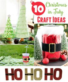 Christmas in July - DIY Christmas Decor - Crafts Unleashed