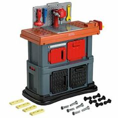 Amazon.com: Fisher-Price Grow with Me Workshop Playset: Toys & Games