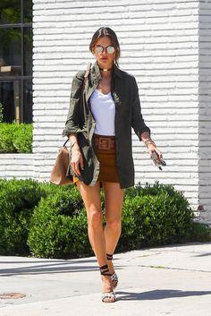 Alessandra Ambrosio's Best Street Style 2016   POPSUGAR Latina