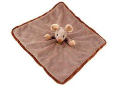"""Bukowski Soft Plush Bilkompisarna Mouse Blanket Stuffed Animal Toy 13 X 13"""" by Bukowski. $26.95. Every baby item has eyes, mouths and noses embroidered by hand.. Some of the items have plastic beans inside and are secured in inner net bags.. Designed by Barbara Bukowski and created by Bukowski Design AB in Sweden.. Bilkompisarna Mouse Blanket 13 x 13 inches. Luxuriously soft & incredibly adorable!. All eyes are secured and locked, attached with a secure lock on the inside....."""