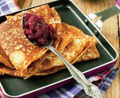 Clatite de post Romanian Food, Diy Food, Crepes, Gem, French Toast, Bread, Vegan, Cooking, Breakfast