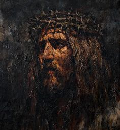 "douayrheims: ""(via Devotion to the Holy Face of Jesus: The tragedy of Calvary… Religious Pictures, Jesus Pictures, Religious Art, Pictures To Draw, Spiritual Pictures, Jesus Christ Images, Jesus Face, Jesus Cristo, Christian Art"