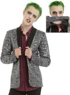 Suicide Squad The Joker HAHA Guys Jacket