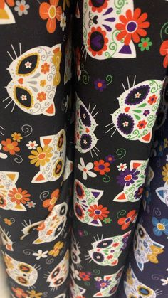 Mook Fabrics fabric stores in Winnipeg and Medicine Hat Alberta Sugar Skull Cat, Hat Stores, Having A Blast, Medicine, Fabrics, Wool, Sewing, Pattern, Cotton