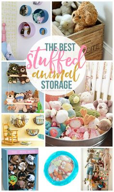 The very best stuffed animal storage and organization ideas for any kids bedroom