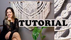 Macrame Tutorial, Macrame Knots, Macrame Patterns, Arts And Crafts, Diy Crafts, Weaving, Knitting, Youtube, Inspiration