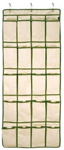 sapateira tecido organizador ideal para portas - lenox