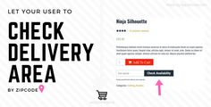Woo Delivery Area Pro by flippercode A woocommerce extension that allows visitors to check whether a product is available for delivery in a particular area or not. Admin can create product delivery rules from backend within minutes as per requirements. This plugin pr