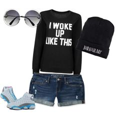 Lazy day by adenvait on Polyvore featuring polyvore, fashion, style, Aéropostale and Boohoo