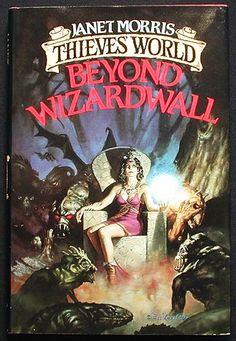 Beyond Wizardwall  Authors: Janet Morris Year: 1986-06-00 Publisher: Baen  Cover: Doug Beekman