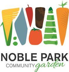 community garden logo - love how modern and graphic this is Logo Google, Logos, Logo Branding, Garden Boxes, Cool Logo, Garden Projects, Botanical Gardens, Identity, Modern