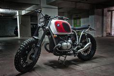 Bmw R80 Boxer Country #scrambler | by Motorecyclos