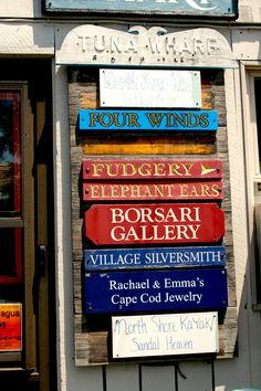 Rockport, MA. Four winds is my favorite pottery place in New England.
