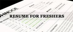 Resume.ae: How to create a resume for freshers?follow us at ...