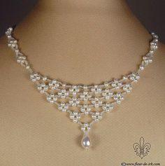 Ivory Swarovski Pearls, silver
