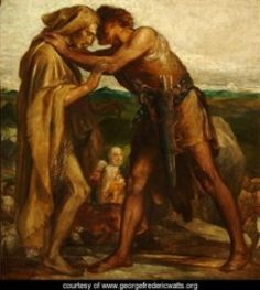Learn more about Jacob and Esau, 1878 George Frederick Watts - oil artwork, painted by one of the most celebrated masters in the history of art. What Is Emotional Intelligence, Famous Twins, Off The Grid News, Bible Commentary, 12 Tribes Of Israel, Pre Raphaelite, Daily Prayer, Art Uk, Wild Ones