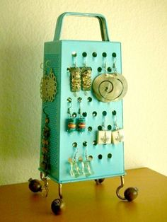 Earring Cheese Grater