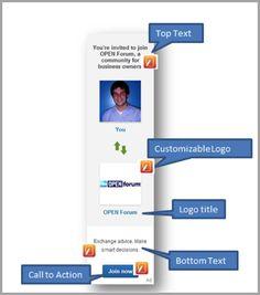 Spotlight ads for how to advertise your business on LinkedIn #six40marketing | For more digital marketing & social media tips follow @six40marketing | linkedin.com/in/melindardavis | six40marketing.com
