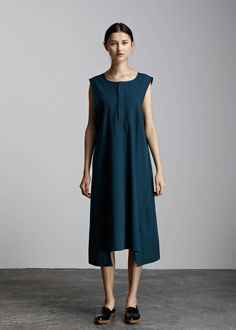 McCall Dress by Kowtow. Ethical organic cotton.
