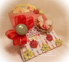 Cheryl Walker: Sweeet Designs by Cherl for CottageBLOG: Butterfly Confectionery Bag - 5/10/13  (Francy Insert Card/Tag; Confectinary Bag, Large; Butterfly Mini; Doily MIni; Picket Fence Mini; Tree of Nature).  (Pin#1: Butterflies... Pin+: Dies: CottageCutz).
