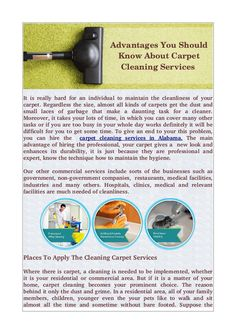 Cleaning Expert  Inc  offers commercial cleaning service in Alabama. We provide maximum hygiene #Carpet #Cleaning #Services 100% chemical free.