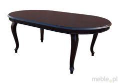 Duży klasyczny rozkładany stół ARES, Bukowski Meble Stylowe - Meble