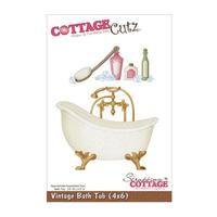 CottageCutz Die - Vintage Bath Tub