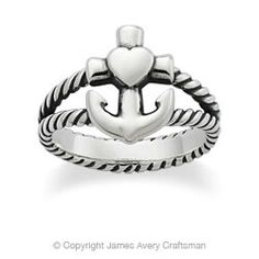 James Avery ring. I want this ring but its very popular.