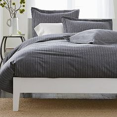 Spencer Stripe Duvet Cover  / Blanket