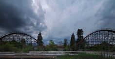 Stormy Skies Over World's Eeriest Abandoned Theme Parks (PHOTOS).