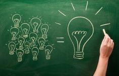 Van veel ideeën naar 1 top idee.