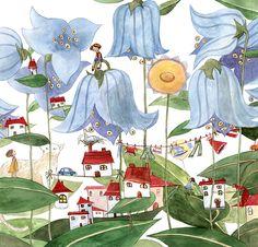 A fine art print entitled City Plant by Cristiana Radu! Illuminated Manuscript, Her Style, Art Nouveau, Fine Art Prints, Japanese, Culture, City, Drawings, Plants