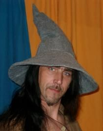 Make your own Gandalf hat #DIY #LOTR ---NO --DO NOT MAKE HIM WEAR THIS- HE MIGHT LIKE IT