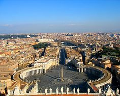 Amazing view of Rome Italy