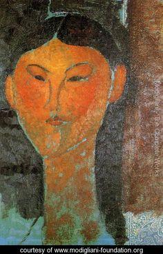 Amedeo Modigliani - Portrait of Beatrice Hastings (1915)