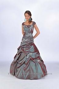Beautiful modest prom dress!