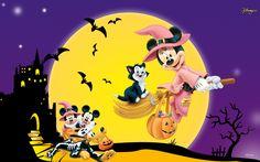 Disney Halloween - Sites Of Great Wallpapers Wallpaper (33253939) - Fanpop