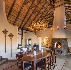 Cosy fireplace at Royal Madikwe Luxury Safari Lodge, Madikwe Game Reserve, North West Cosy Fireplace, Game Lodge, Game Reserve, North West, Safari, African, Luxury