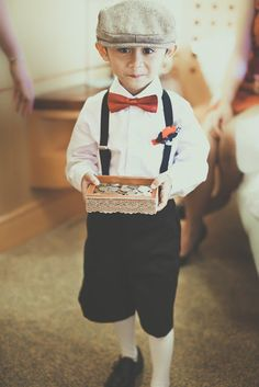 ring bearer-TOO CUTE!