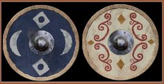 Sorbs or Lusatian Serbs or Wends or Serbja or Serby, their shield from roman period