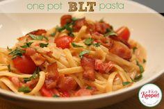 BLT Pasta it's a keeper