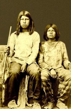 Ton Ka Wa Boys Photographed By Henry S Shuster Ca 1865