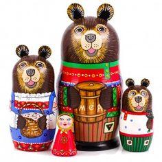 Masha and the Bear Nesting Doll
