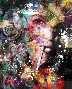 Buy it's time to be yourself, a Acrylic on Canvas by yossi kotler from Israel. It portrays: People, relevant to: women in art, beauty, mix media art, yossi kotler art, acrylic painting, face When I am walking around outside in the nature, by investigating my path and my creativity, there is suddenly a spark that catches my eyes, that I can reflect to its shapes, texture, and to its colors. And this starts a creative process in me. Then I will search for a female figure with a unique look ...